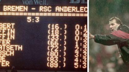 """De tragedie van Anderlecht op Werder Bremen speelde zich vandaag exact 25 jaar af: """"Onze fans dansten aan de rust. Ze weenden erna"""""""