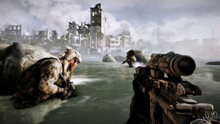 Beeld uit het spel Medal of Honor Warfighter Beeld ANP