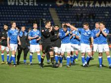 FC Den Bosch viert feest voor een halflege tribune: 'Wie zijn billen brandt, moet op de blaren zitten'