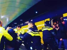 Agenten en bezoekers Mega Piraten Festijn raken slaags op station Arnhem