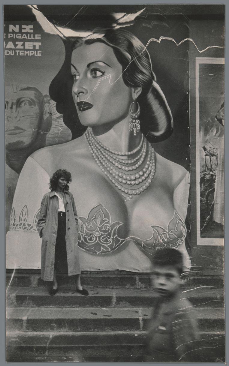Ed van der Elsken, Ata Kandó, Parijs, 1954. Beeld Ed van der Elsken / Collectie Nederlands Fotomuseum, Rotterdam