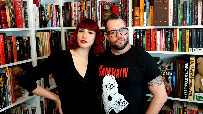 Alex Agnew en Zoe Bizoe Beeld Humo