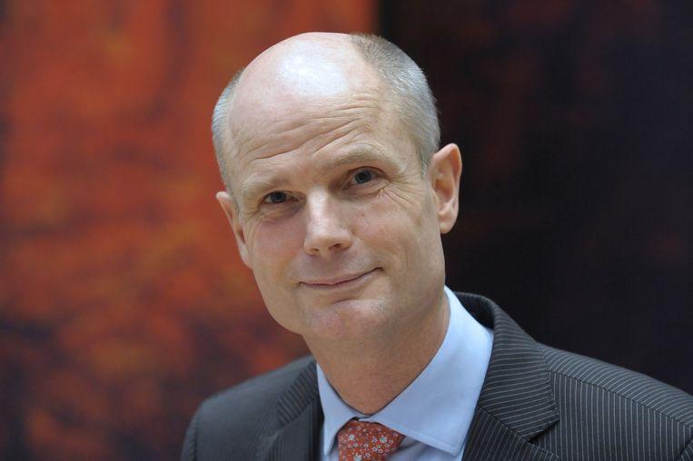 Volgens VVD-minister voor wonen en rijksdienst Stef Blok, die bij afwezigheid van Plasterk dinsdag met Van Bommel in debat ging, is de procedure juist goed. Beeld anp