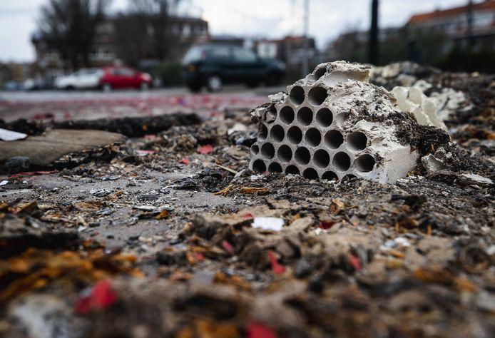Foto ter illustratie. De schade is ondanks het vuurwerkverbod hoger dan vorig jaar in Steenbergen.
