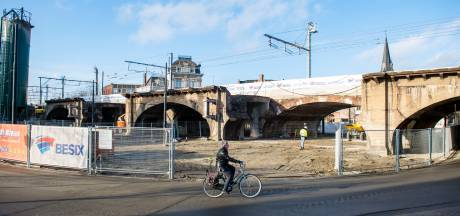 Afbraakwerken viaduct Draakplaats van start gegaan