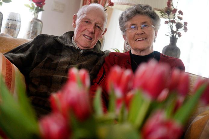 Henk en Annie Westerhof-Wensink: 60 jaar getrouwd.