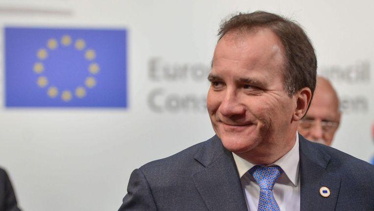 Zweeds premier Stefan Löfven.