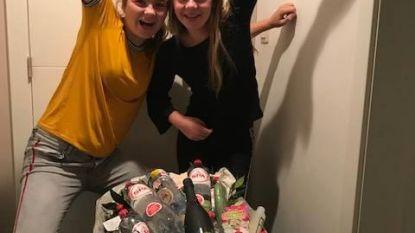 Esther en Alice winnen 'verwenweekend Spa' met Halloweenwedstrijd