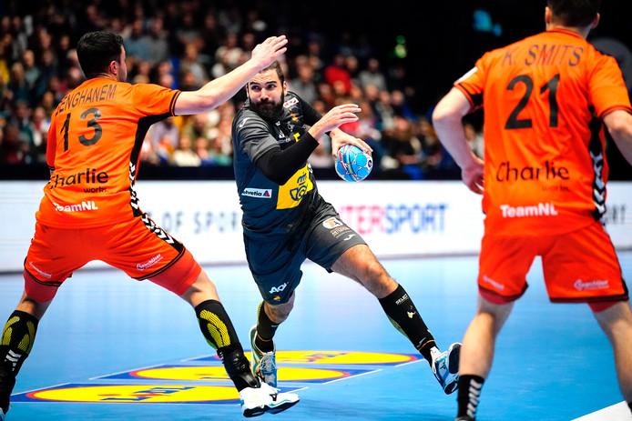 De Nederlandse handballers konden op het EK niet voor een stunt zorgen tegen Spanje.