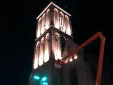 Geslaagde test met nieuwe verlichting Hengelose Lambertusbasiliek