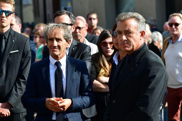 Alain Prost met Jean Alesi.