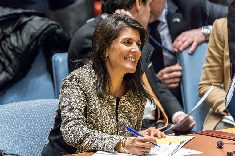 VS-ambassadrice bij de VN Nikki Haley