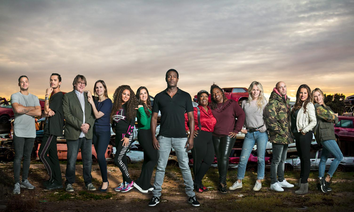 Alle deelnemers van De slechtste chauffeur van Nederland VIPS.