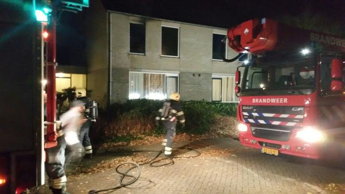 Brand in een woning aan het Schildhof in Dommelen.