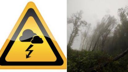 """""""Check of je tuinmeubels vastzitten"""": gemeenten nemen maatregelen tegen storm, noodnummer geactiveerd"""