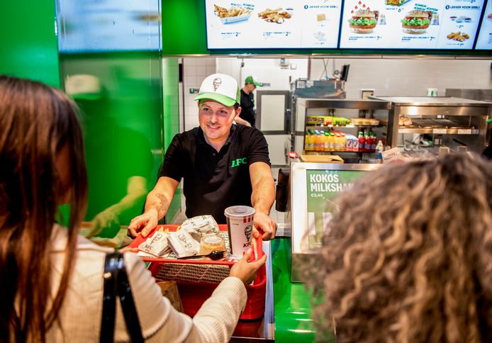 Oosterhout krijgt een KFC. Op de foto een vestiging in Rotterdam.