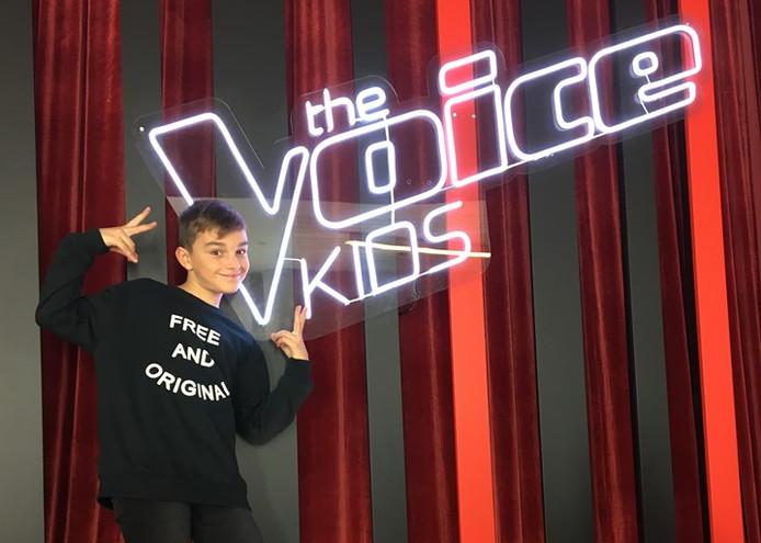 "Martin sera dans ""The Voice Kids"", ce mardi."