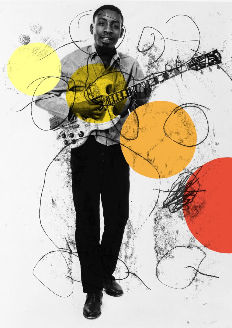 Bobby Hebb in 1966 in de Verenigde Staten. (Photo by Gilles Petard/Redferns) Beeld null