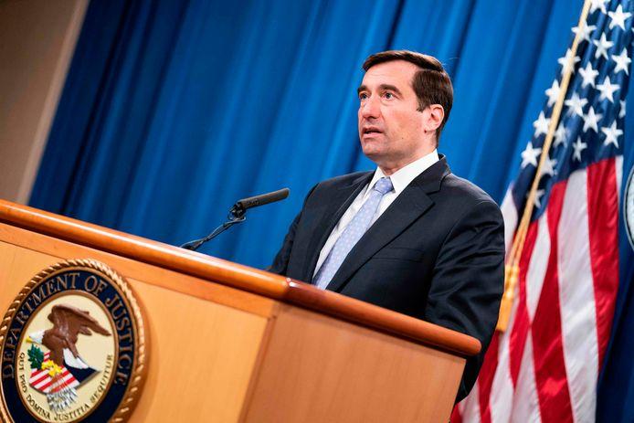 De Amerikaanse topambtenaar op het gebied van nationale veiligheid John Demers.