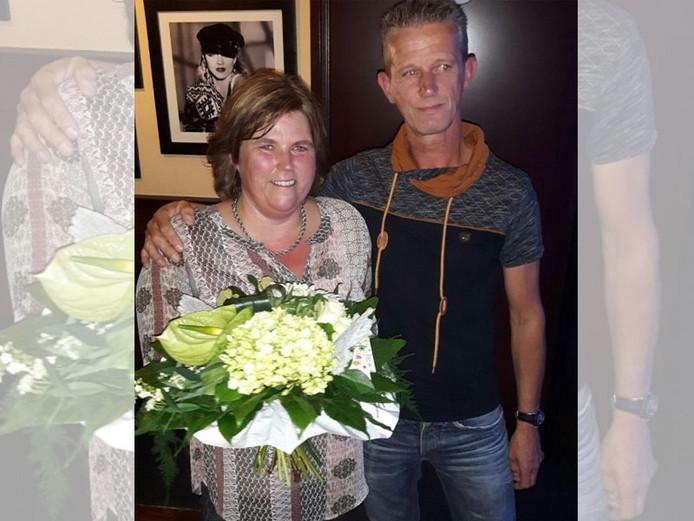 Melanie Olde Riekerink werd geëerd voor haar vrijwilligerswerk bij SV De Lutte