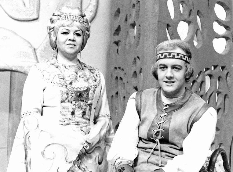 Keromar Ann Petersen en Mike Verdrengh in 'Keromar'.