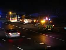 Ongeval op de A1 tussen Rijssen en Markelo, 8 kilometer file