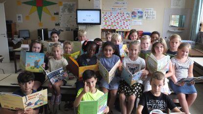 Leerlingen Leieparel lezen iedere dag