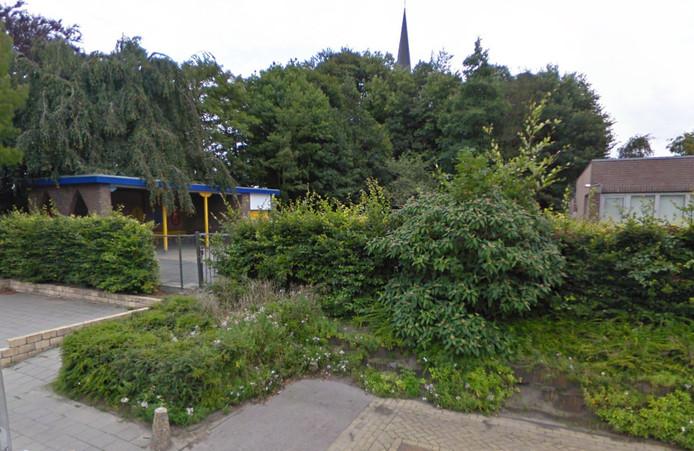 Scholplein bij de basisschool Mariadonk in Zegge.