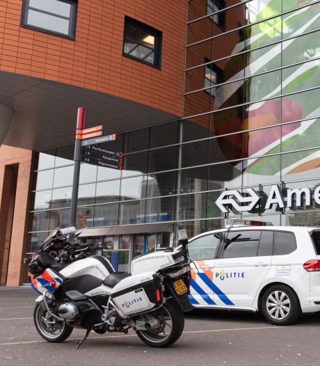 Verdacht pakketje op station Amersfoort blijkt loos alarm