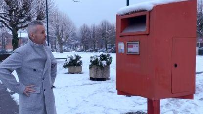 """Deze """"brievenbus voor reuzen"""" was dagenlang gespreksonderwerp nummer één in Waalse gemeente"""