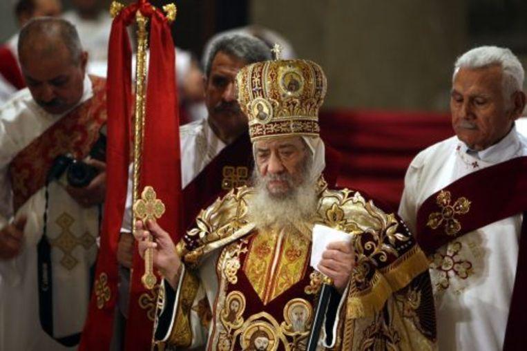 De koptische paus Shenouda III. ANP Beeld