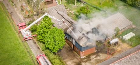 Wietkwekerij ontdekt bij brand in schuur Overberg