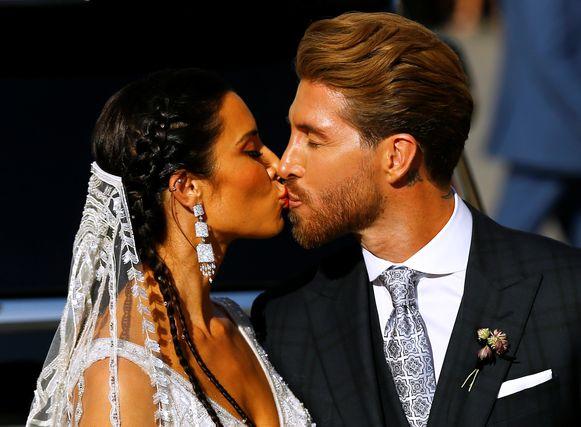 Op 15 juni huwde Ramos Rubio in Sevilla.
