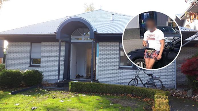 De woning in Gronau waar Abas M. werd opgepakt. Zijn broer Idris blijft voorlopig vastzitten, zo bepaalde de Zwolse rechtbank gisteren.