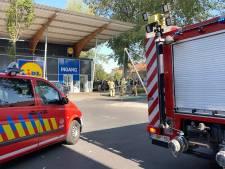 Lidl in Sint-Pieters ontruimd doordat brandalarm in werking treedt