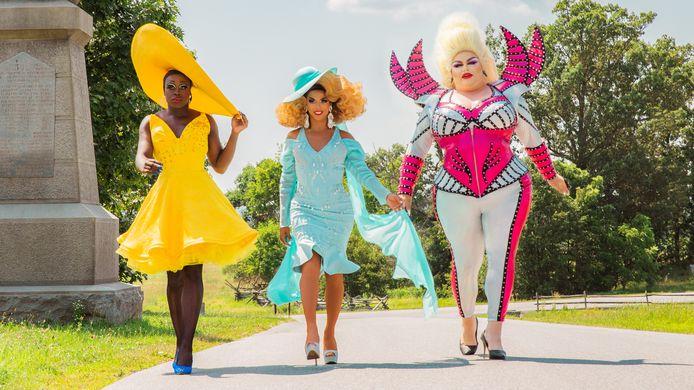 We're Here season 1 - Bob the drag queen, Shangela & Eureka O'Hara