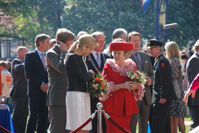 De koninklijke familie in Apeldoorn.