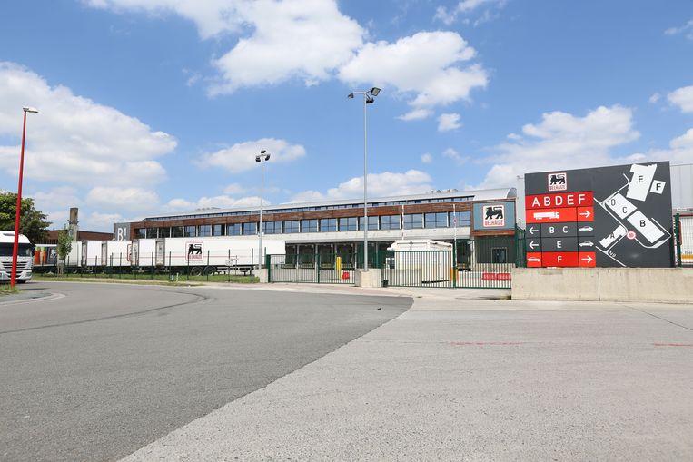Het distributiecentrum van Delhaize in de Broekooi.