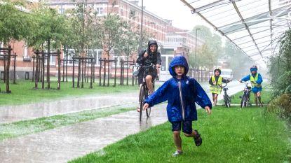 Code geel voor regen tot begin namiddag