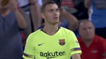 """Spaanse pers vernietigend voor FC Barcelona en Vermaelen: """"Een regelrechte ramp op de linksachter"""""""