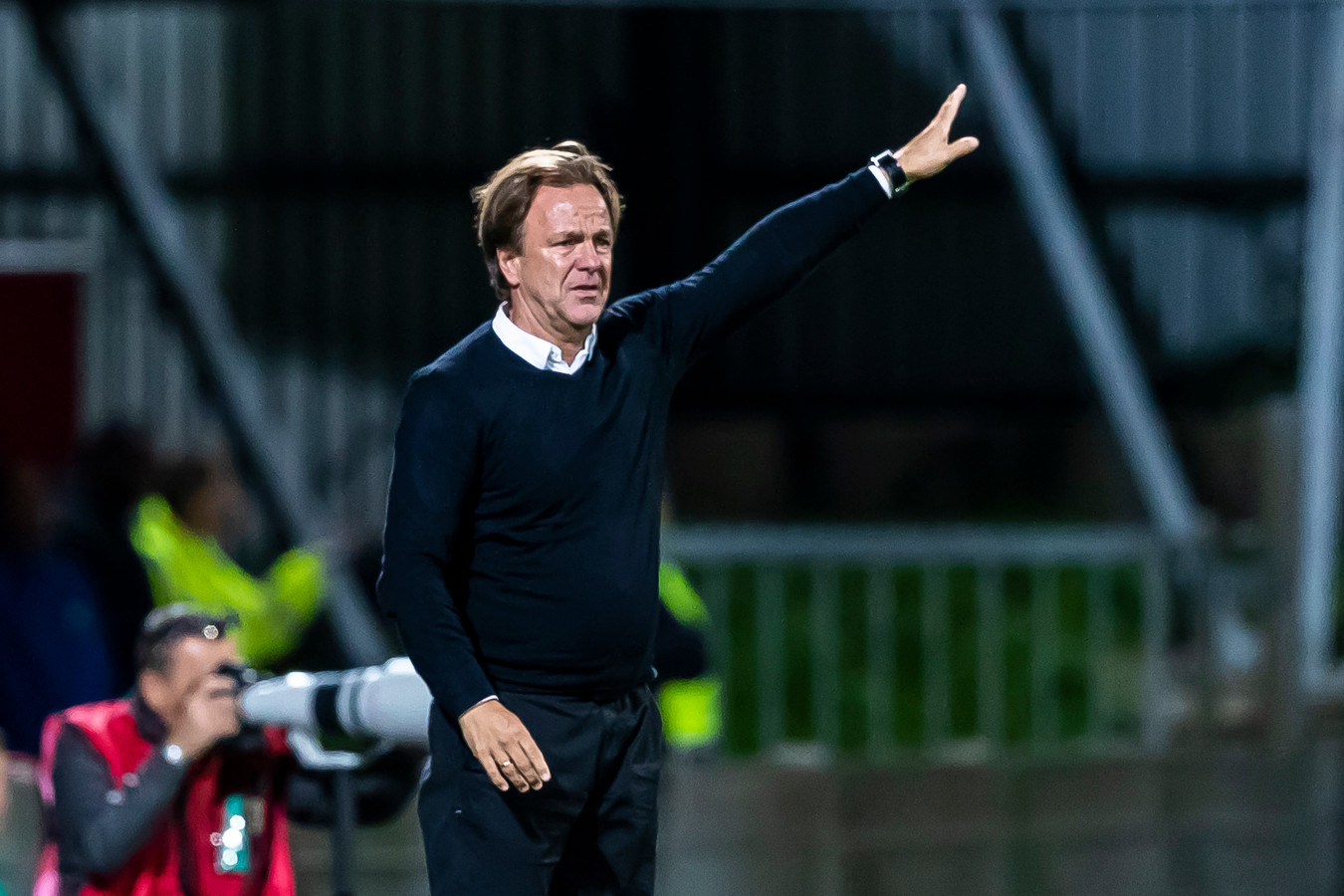 Mike Snoei, trainer van Telstar