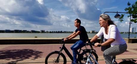 De omzet van deze Bergse fietsenmaker is voor 70 procent te danken aan e-bikes