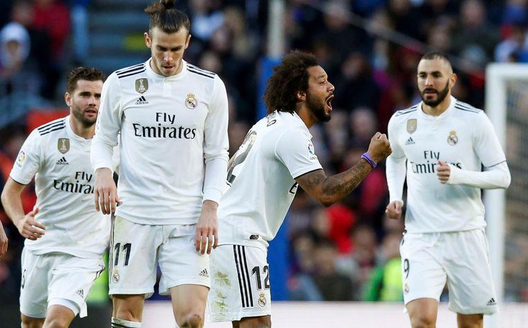 Marcelo gaf Real nog even wat hoop.