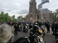 Molukse motorrijders arriveren in Apeldoorn voor herdenking