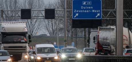 A12 tussen Duitsland en Arnhem in file top tien: ook in coronatijd staat verkeer vast