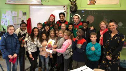 Ketnet-wrappers op bezoek in basisschool 't Karmelieten
