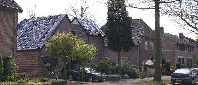 Oss kan niet stoppen met groen dak oss - Kantoor onder het dak ...