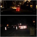 Het is donker in Hees. De straatlantaarns zijn al bijna vier weken kapot.