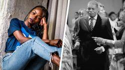 """Spurtster Cynthia Bolingo over Black Lives Matter en corona: """"Gelukkig was ik erbij toen papa stierf"""""""