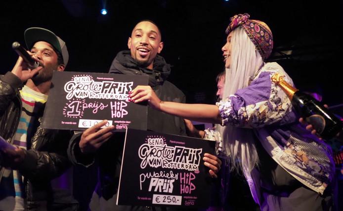 MC JR & Th'Acquisition won zaterdagavond de Sena Grote Prijs van Rotterdam